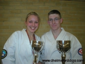 Becky and Darren 2006  British Kata Championships