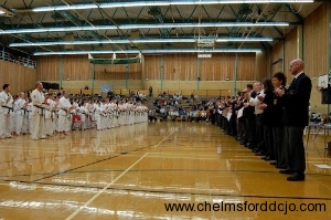 2006  British Kata Championships  Competitors and Officials Lined Up