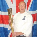 Shihan holding Olympic Torch Aug 2012